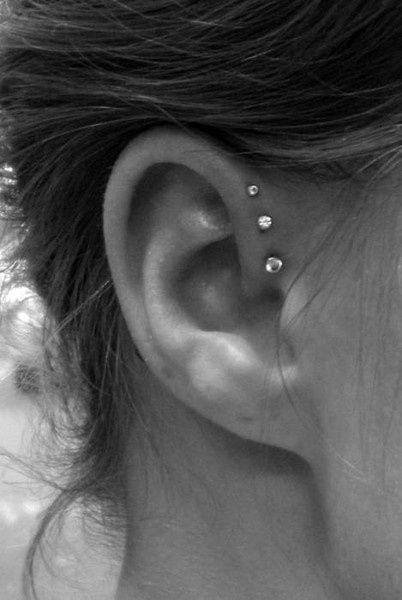 18 Cutest Ear Piercings that looks so adorable