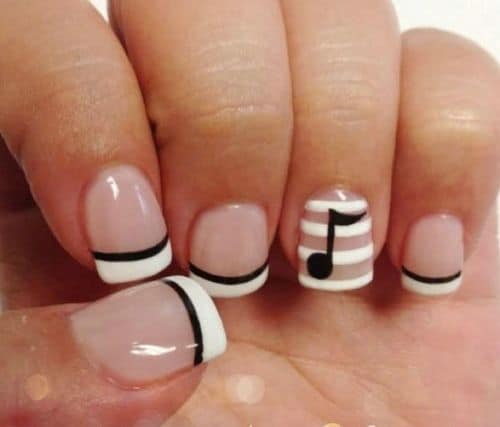 50 gorgeous nail designs for short nails 50 gorgeous nail designs for short nails prinsesfo Gallery